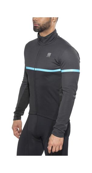 Sportful Giara Softshell Jacket Men black/blue denim